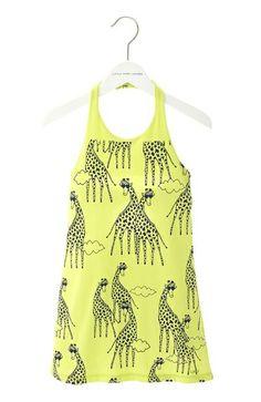 Little Marc Jacobs Cotton Giraffe Dress