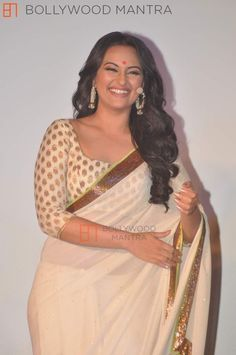 Sonakshi, and the perfect saree figure.