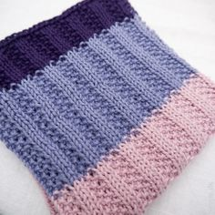 Patchwork in rib-and-knit pattern DIY, tempo.dk: Cutlery in rib-and-knit pattern DIY. Crochet Chart, Knit Or Crochet, Knitting Patterns, Crochet Patterns, Knitting Tutorials, Knitting Stitches, Washing Clothes, My Favorite Things, Creative