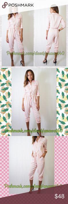 4df9b245de9 HP Teodora Light Pink Off Duty Jumpsuit Teodora Light Pink Off Duty Jumpsuit    Soft-