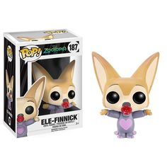 Funko Disney Zootopia POP Ele-Finnick Vinyl Figure - Radar Toys
