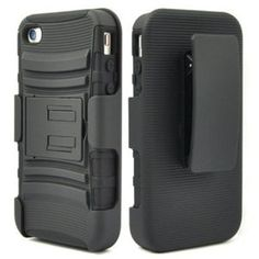 PC + silicone combo case mobile phone protective cover bracket for iphone 5