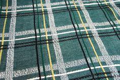 Bates VintageTwin Bedspread Green/Black/White/Gold