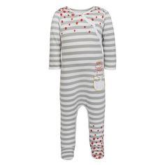 Pyjama Gris Blanc