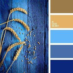 The Color Palette Number 944 Beige Blue And Brown Royal