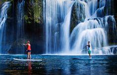 Waterfall SUP