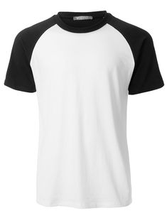 Mens Casual Color Block Short Sleeve Raglan T Shirt – Men's style, accessories, mens fashion trends 2020 Safari Jacket, Distressed Denim, Cool Outfits, Shirt Designs, T Shirt, Men Casual, Block Design, Sleeves, Clothes