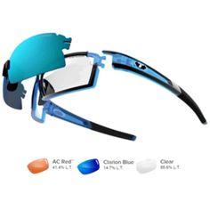 Tifosi Escalate S.F. Sunglasses - Crystal Blue