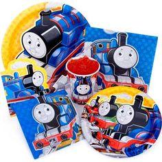 Train Party Ideas - Thomas the Tank Engine party supplies