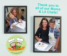 Big THANK YOU to all of our Moms & Lil Chefs who attended our Muffins with Mom Class & our Mom N Me Workshop.  We had a great time cooking with all of you!