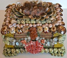 Seashells Chest by ChristaSouthSeashell on Etsy, $3950.00