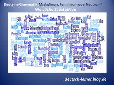 Artikel: Der, die oder das? Genusregeln - weibliche Substantive. Regeln, Ausnahmen und Beispiele