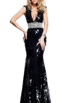 IBEAUTY DRESS Women's V-Neck Lace Evening Dress at Amazon Women's Clothing store