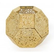 #Tom Dixon - #Etch Candle i #messing
