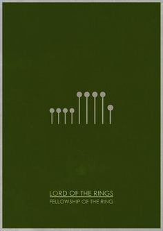Lord of the Rings: The Fellowship of the Ring by Adam James (Jamesy Design)
