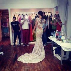 Las Pruebas de Vestuario d Miss Anzoátegui Edymar Martínez, Traje que lucirá la Noche Final del Miss Venezuela 2014