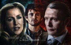 Hannibal and Bedelia (and Will) Wallpaper - STOP by thecannibalfactory.deviantart.com on @DeviantArt