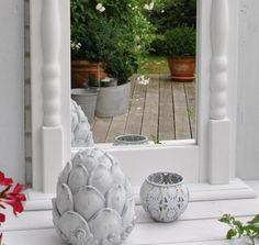 Charming Interior *** *CHALK PAINT MIRROR **** cottage no8