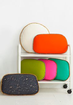 cushions by Room39 #coloreveryday