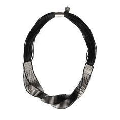 MCE Swirl Big Necklace |  http://adornmilk.com