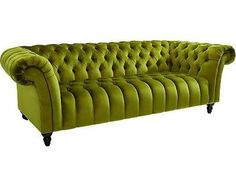 Heine: Chesterfield-Sofa, grün. 1000EUR