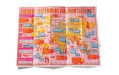 Grootste kraskaart ooit, bijna abri formaat mailing... New York Festivals finalist