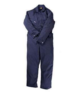 XT Lightweight Cotton Flame Resistant Deluxe Coverall, Navy, Extra Tall -- You can get more details by clicking on the image. (This is an affiliate link) Elastic Waist, Duster Coat, Overalls, Link, Cotton, Jackets, Image, Fashion, Down Jackets