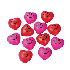 Mini Relaxable Squeeze Hearts - OrientalTrading.com (We are using these to illustrate that we can pray for hearts to be softened to receive from the LORD or to receive Salvation.)