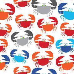 Crabs in Multi de DinoFabric sur DaWanda.com