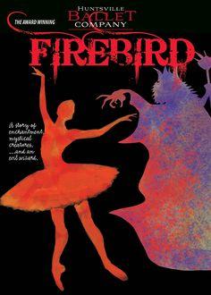 Huntsville Ballet will perform FIREBIRD in October..