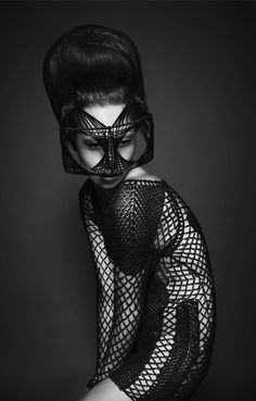 "Avant Garde ""Hairdresser"" by Indira Schauwecker Dark Fashion, Fashion Art, Editorial Fashion, Fashion Beauty, Fashion Models, Fashion Design Inspiration, Logo Inspiration, Fashion Fotografie, Avant Garde Hair"