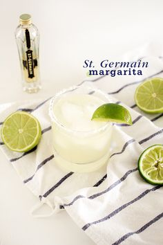 St. Germain Margarita. I repeat, ST. GERMAIN MARGARITA. Two of my loves combined.