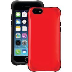 """Ballistic Iphone 6 4.7"""" Urbanite Case (red And Black)"""