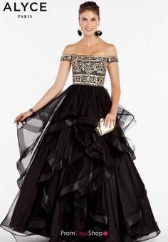f25013569d Alyce Paris Off the Shoulder Dress 60402