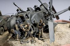 Dioramas and Vignettes: Black Hawk Down, photo #6