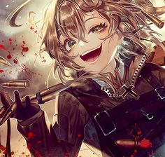 Fanarts Anime, Anime Manga, Kawaii Anime, Tanya Degurechaff, Tanya The Evil, Top Imagem, Anime Military, Anime Weapons, Cartoon Tv