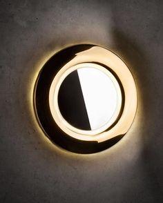 """""""Mi piace"""": 51, commenti: 5 - Melina Light (@melinalight) su Instagram: """"Light or mirror? Collezione Koi Deluxe #melinalight #melinawalllamp #walllamp #design…"""""""