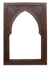A selection of Moroccan mirrors handmade hand engraved and hand-painted by master craftsmen in Morocco Mirrors with beautiful hand crafted frames in Moroccan Mirror, Frame Crafts, Hand Engraving, Morocco, Craftsman, Mirrors, Tea Pots, Sink, Rugs