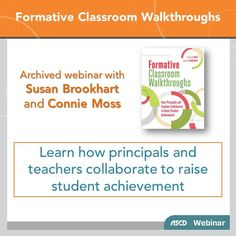 #Teachers, administrators, and #students can all gain from a walkthrough process that is formative, collaborative, and evidence-based. Learn how observations can improve instruction in your classroom.