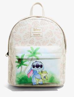 Loungefly stitch frog Backpack on Mercari Lilo Og Stitch, Disney Stitch, Stitch Backpack, Baby Backpack, Cute Disney Outfits, Cute Mini Backpacks, Mini Mochila, Disney Purse, Cute Stitch