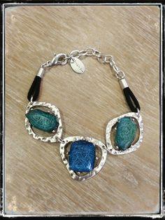 Pulsera Blue & Green
