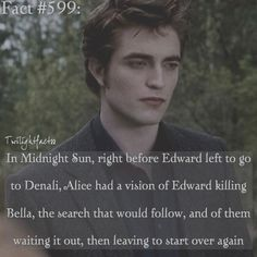Which is why he left. He couldn't do that to his family, not when Esme and Rosalie liked being in Forks so much, and they were just really starting to get settled in there. Twilight Jokes, Twilight Saga Quotes, Twilight Saga Series, Twilight Edward, Twilight Cast, Twilight Series, Twilight Movie, Jasper Twilight, Twilight Pictures