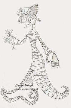 Bobbins lace - pattern                                                       …
