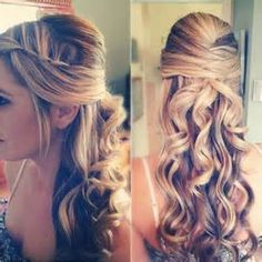 Wedding Hairstyles for long Hair www.fairygodmothersbridal.com