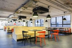 More from Google's coworking space in London. We like.