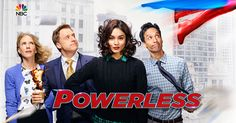 NBC Picks Up DC Comics Comedy Powerless to Series