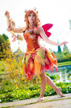 Autumn's fairy by ~LadyGiselle on deviantART