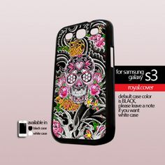 Beauty Flowers Sugar - Print On Hard Case For Samsung Galaxy S3 i9300