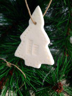 Décoration de Noël en pâte à sel