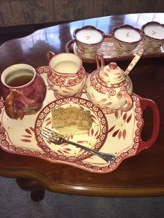 Breakfast tray with Temptations by Pam